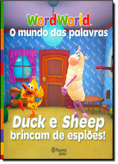 Duck e Sheep Brincam de Espiões, livro de WordWorld