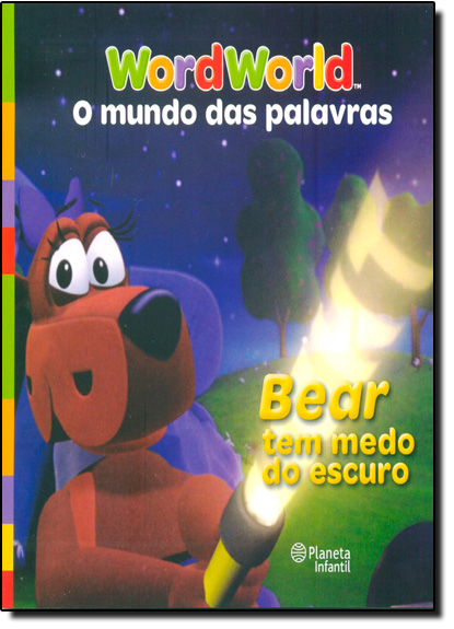 Bear tem Medo do Escuro, livro de Planeta do Brasil