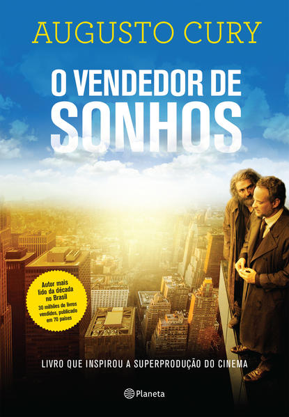 O vendedor de sonhos VOL 1 (Capa do Filme), livro de Augusto Cury