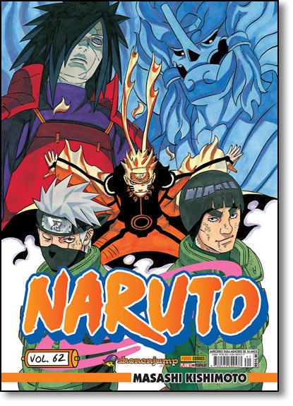 Naruto - Vol.62, livro de Masashi Kishimoto