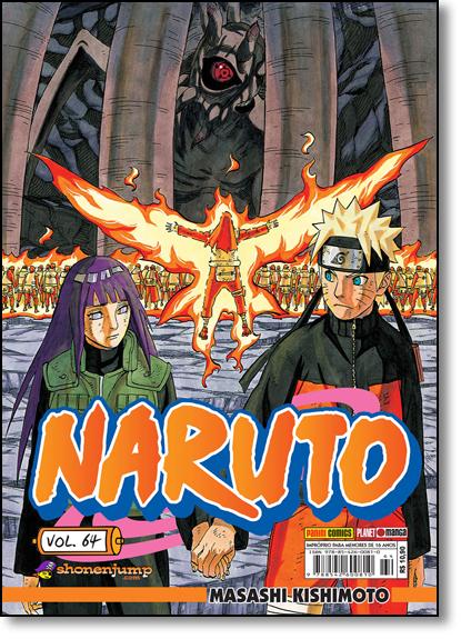 Naruto - Vol.64, livro de Masashi Kishimoto