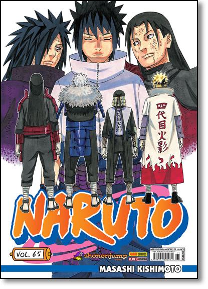 Naruto - Vol.65, livro de Masashi Kishimoto
