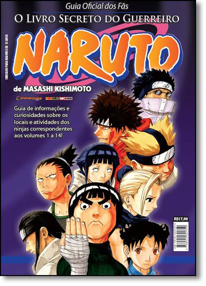 Naruto Guide: O Livro Secreto dos Guerreiros - Vol.2 - Guia Oficial dos Fãs, livro de Masashi Kishimoto