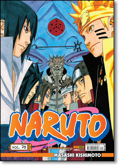 Naruto - Vol.70, livro de Masashi Kishimoto