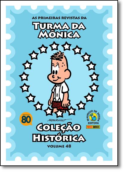 Turma da Mônica - Vol.48 - Coleção Histórica, livro de Mauricio de Sousa