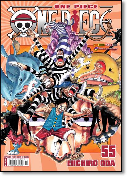 One Piece - Vol.55, livro de Eiichiro Oda