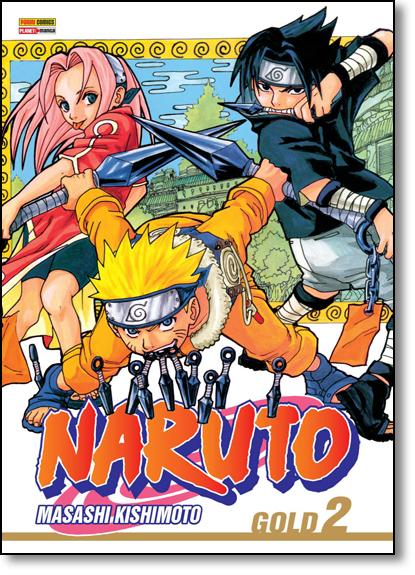 Naruto Gold - Vol.2, livro de Masashi Kishimoto