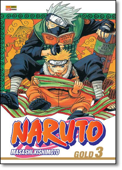 Naruto Gold - Vol.3, livro de Masashi Kishimoto