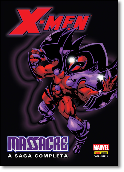 X-men: Massacre - Vol.1, livro de Mark Waid
