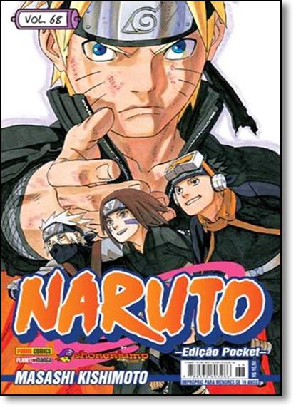 Naruto Pocket - Vol.68, livro de Masashi Kishimoto