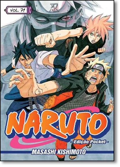 Naruto Pocket - Vol.71, livro de Masashi Kishimoto