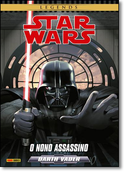 Star Wars Darth Vader: O Nono Assassino, livro de Tim Siedell