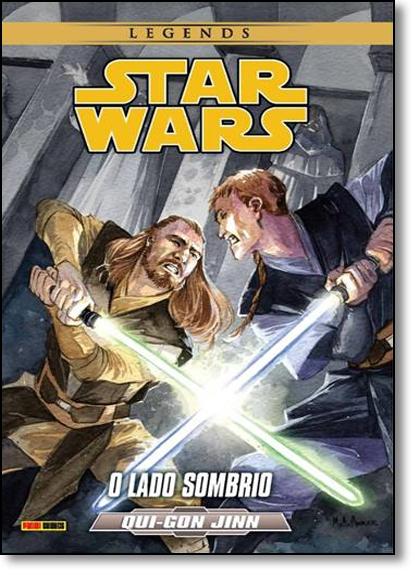 Star Wars - Qui-gon Jinn: O Lado Sombrio - Série Legends, livro de Editora Panini
