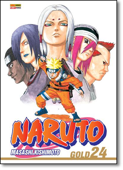 Naruto Gold - Vol.24, livro de Masashi Kishimoto