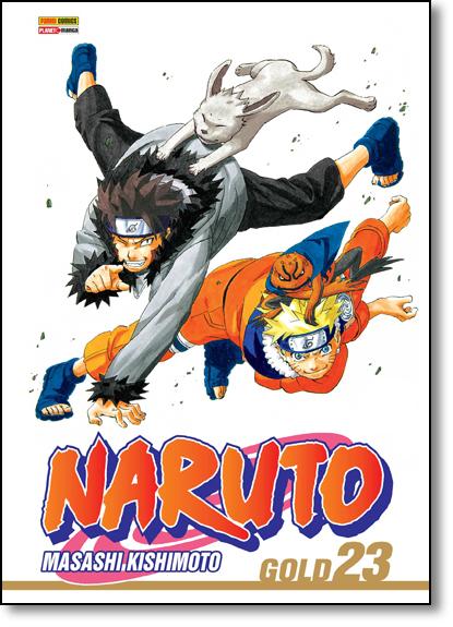 Naruto Gold - Vol.23, livro de Masashi Kishimoto