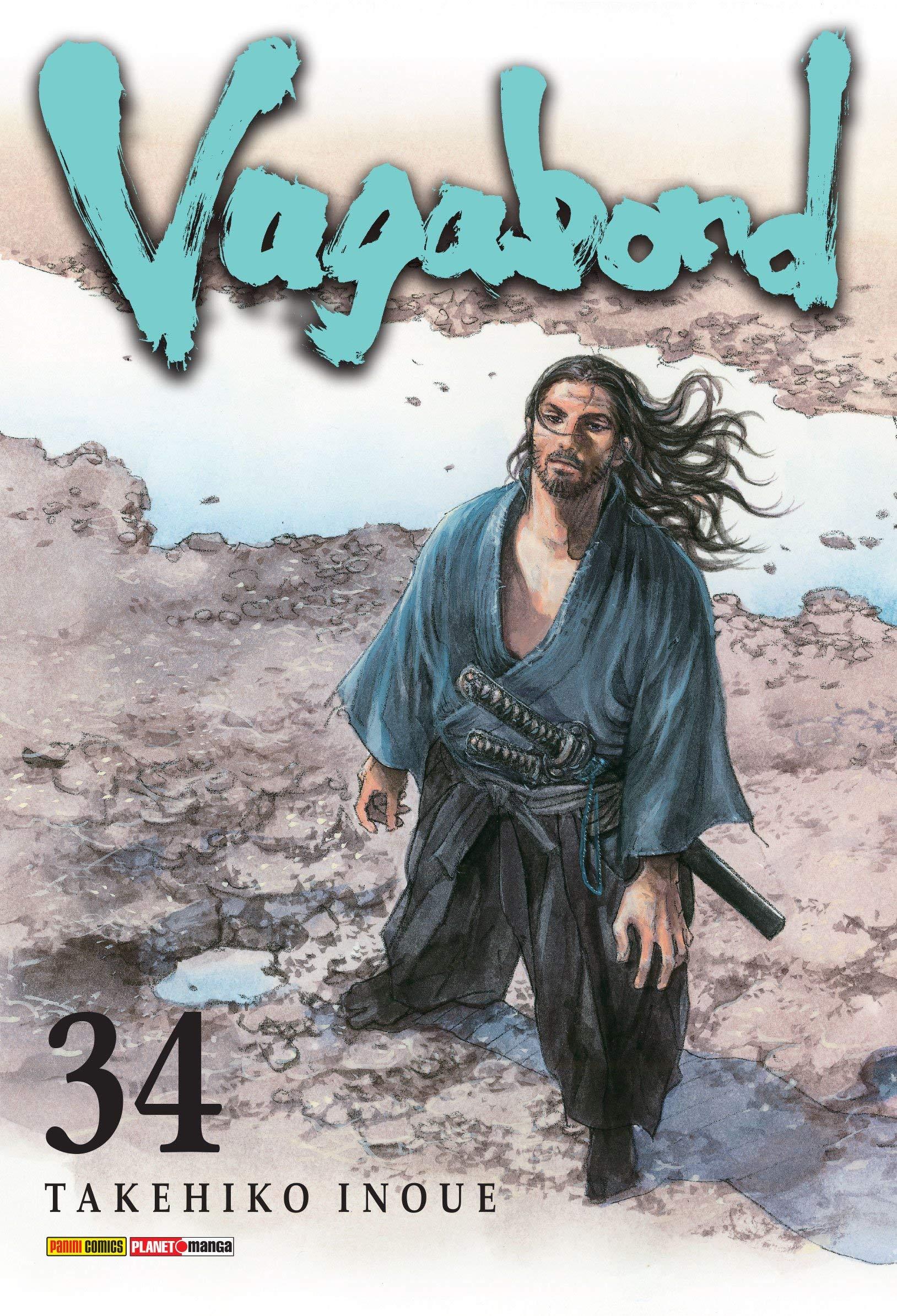 Vagabond - Volume 34, livro de Takehiko Inoue