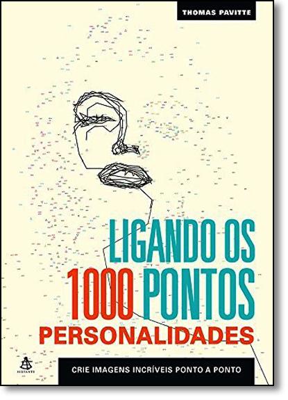 Ligando os 1000 Pontos: Personalidades, livro de Thomas Pavitte