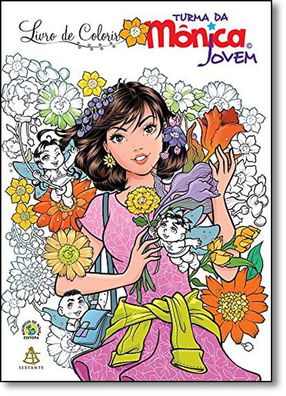 Turma da Mônica Jovem - Livro de Colorir, livro de Mauricio de Sousa