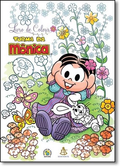 Turma da Mônica - Livro de Colorir, livro de Mauricio de Sousa