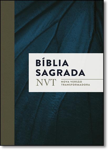 Bíblia Sagrada - Nvt - Azul Marinho Letra Normal, livro de Vários Autores