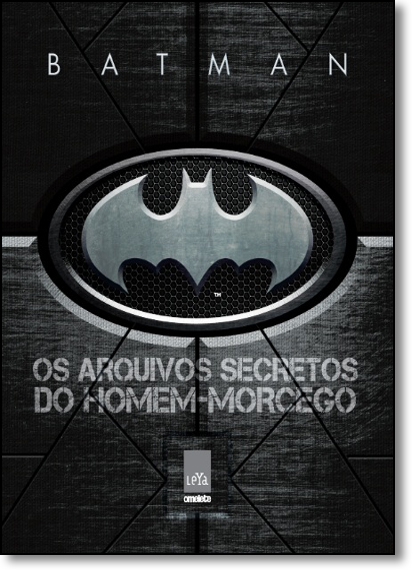 Batman: Os Arquivos Secretos do Homem-morcego, livro de Matthew K. Manning