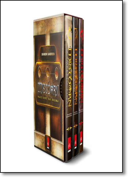 Box Primeira era de Mistborn, livro de Brandon Sanderson