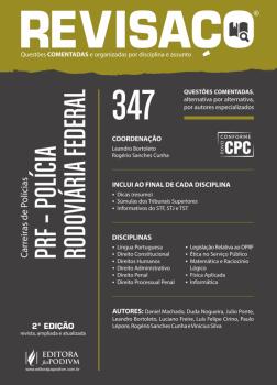 Polícia Rodoviária Federal - 347 Questões Comentadas - 2ª edição, livro de Leandro Bortoleto, Rogério Sanches Cunha