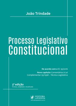 Processo legislativo constitucional, livro de João Trindade