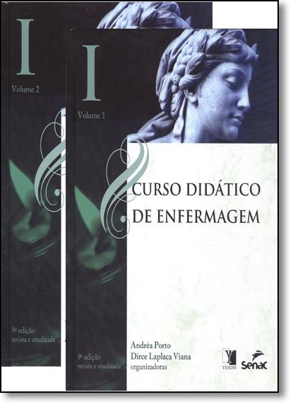 Curso Didático de Enfermagem: Módulo 1 - 2 Volumes, livro de Andréa Porto