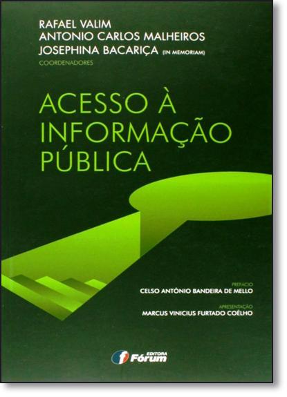 Acesso À Informação Pública, livro de Rafael Valim