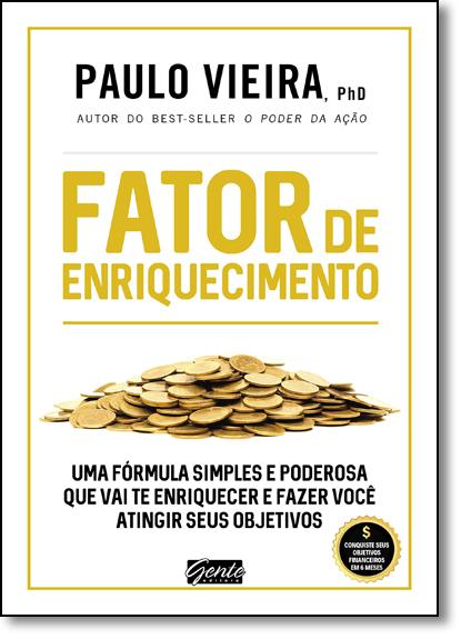 Fator de Enriquecimento, livro de Paulo Vieira