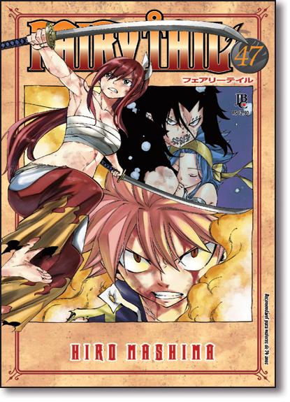 Fairy Tail - Vol.47, livro de Hiro Mashima