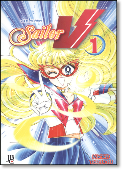 Codename Sailor V - Vol.1, livro de Naoko Takeuchi