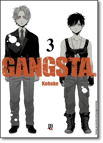 Gangsta - Vol.3, livro de Kohske