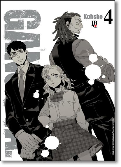 Gangsta - Vol.4, livro de Kohske