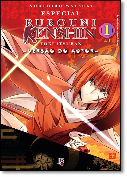 Especial Rurouni Kenshin Versão do Autor - Vol.1, livro de Nobuhiro Watsuki