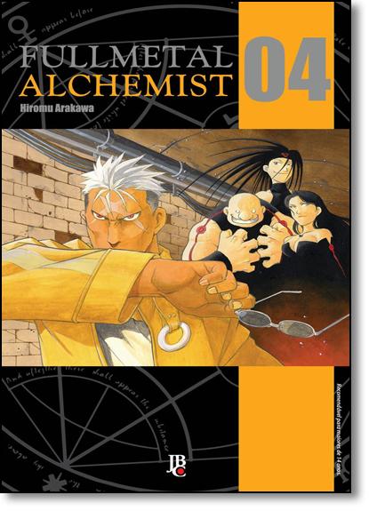 Fullmetal Alchemist - Vol.4, livro de Hiromu Arakawa