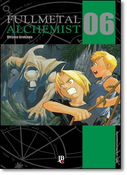 Fullmetal Alchemist - Vol.6, livro de Hiromu Arakawa