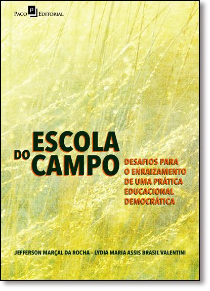 Escola do Campo, livro de Jefferson Marçal da Rocha