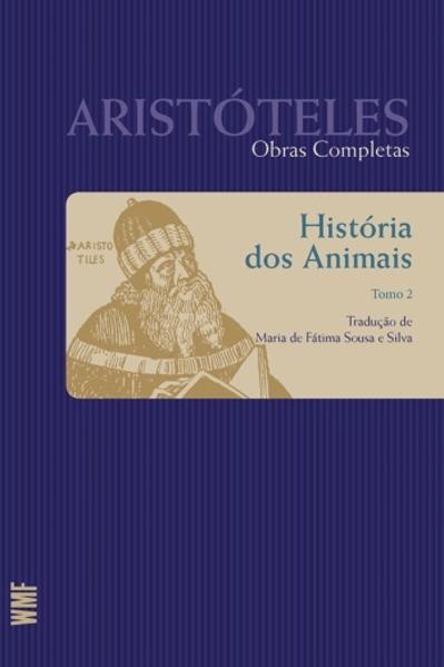 História dos animais - tomo 2, livro de Aristóteles