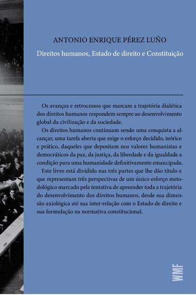 Direitos humanos, estado de direito e constituição, livro de Anotnio Enrique Perez Luño