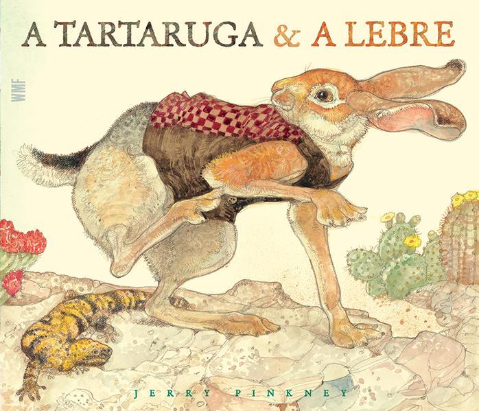 A Tartaruga e a lebre, livro de Jerry Pinkney
