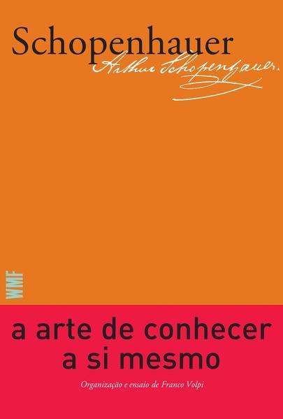 A arte de conhecer a si mesmo, livro de Arthur Schopenhauer