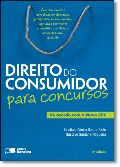 Direito do Consumidor Para Concursos, livro de Cristiano Vieira Sobral Pinto
