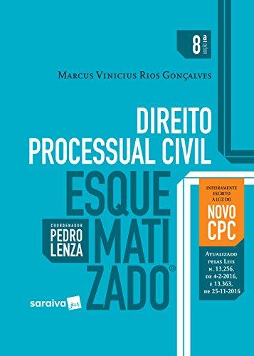 Direito Processual Civil Esquematizado, livro de Marcus Vinicius Rios Gonçalves
