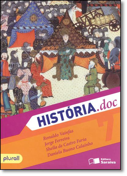 História.doc - 7º Ano, livro de Ronaldo Vainfas