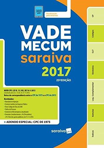Vade Mecum. Tradicional Saraiva 2017, livro de Vários Autores