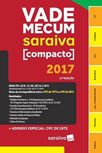 Vade Mecum Compacto Espiral 2017, livro de Vários Autores
