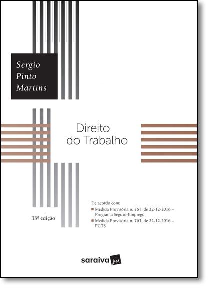 Direito do Trabalho, livro de Sérgio Pinto Martins