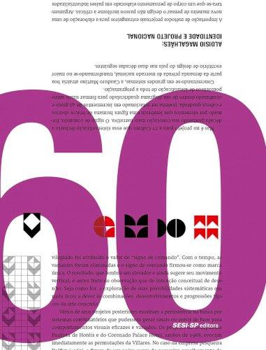 O Design Gráfico Brasileiro: anos 60, livro de Chico Homem de Melo (org.)